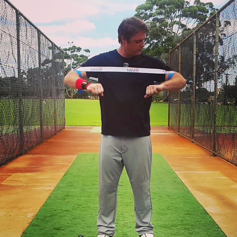 Laser Power Swing Trainer Clint Balgera