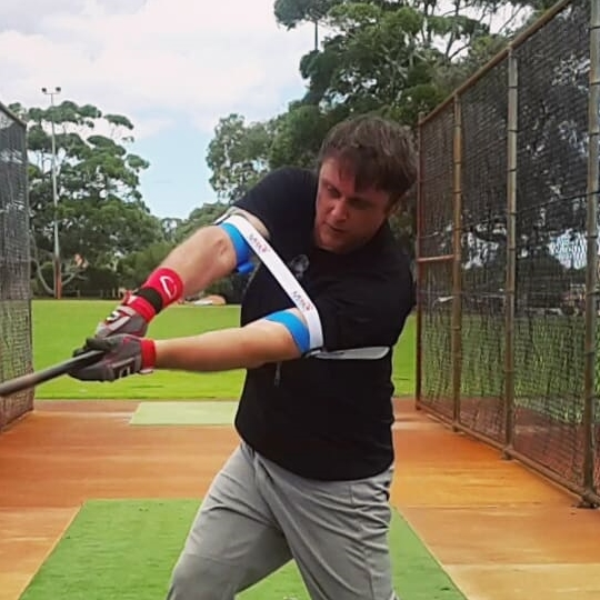Laser Power Swing Trainer Baseball Softball