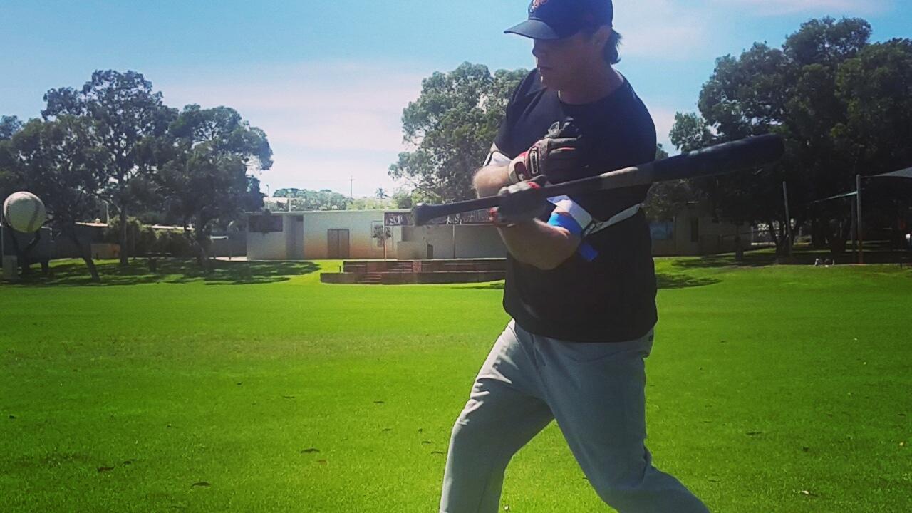 배트 스피드와 힘을 증대시키기 레이저스트랩 야구