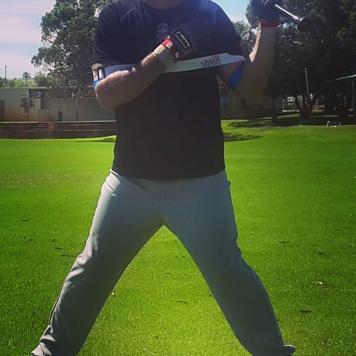 """Laser Beam"" top-hand side toss. Rounds: 1. Swings: 10-20. Beginner Location: Middle of home plate, belt high. Advanced Location: Inside of home plate, belly button high."