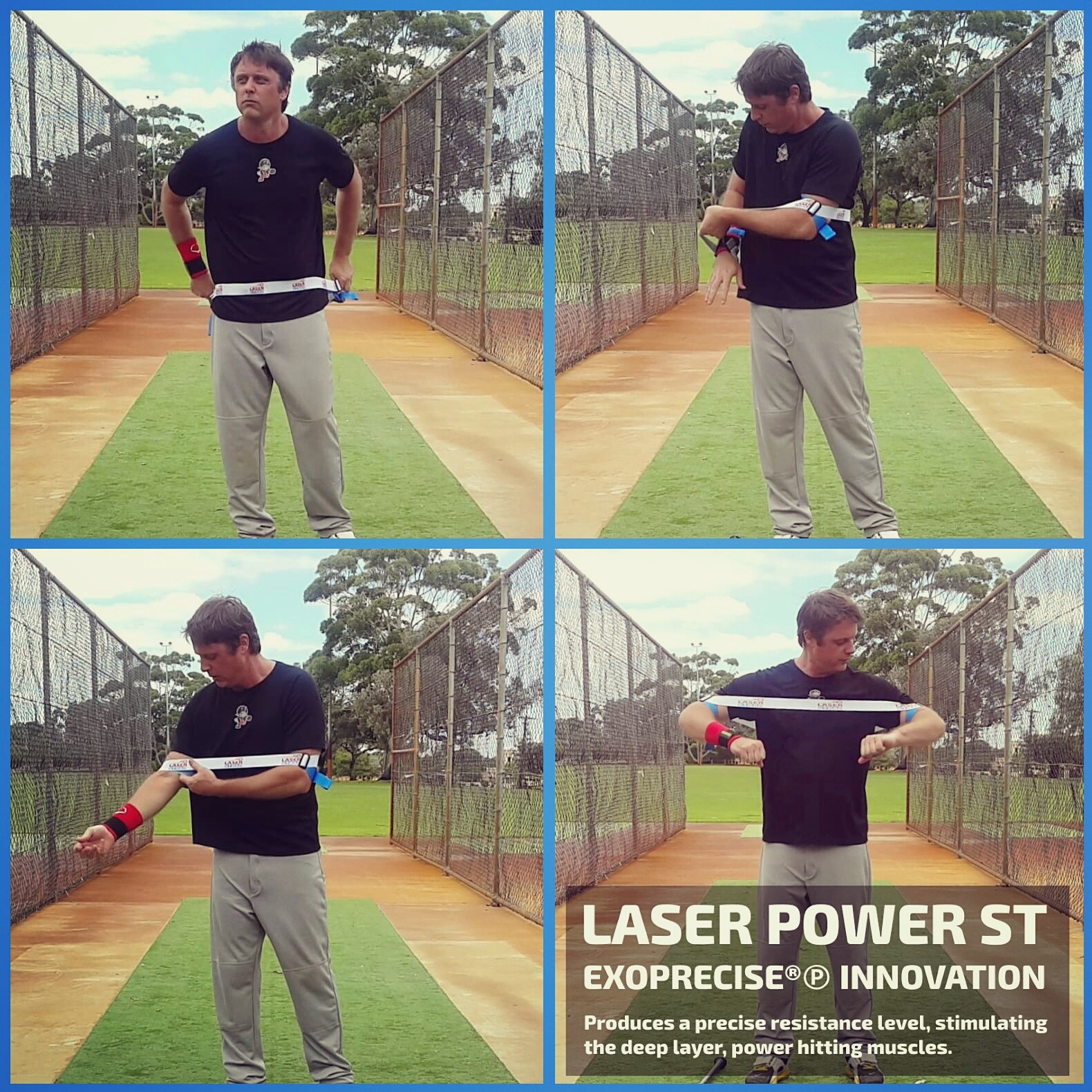 How To Wear Laser Power ST