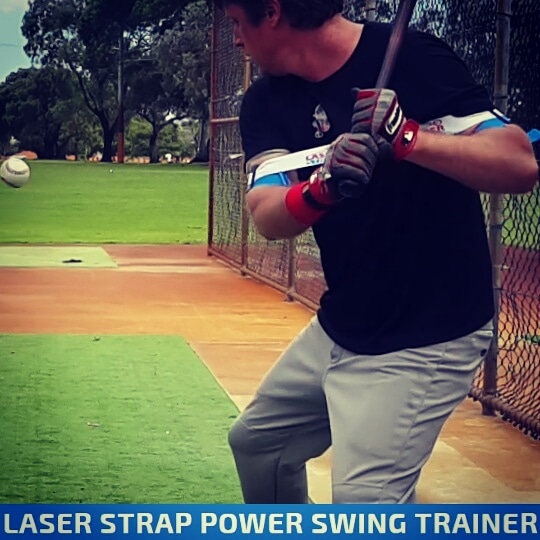 One of the most innovate baseball hitting aids of all time, and the only one you can wear hitting as usual; increasing bat speed, power, and mechanics.