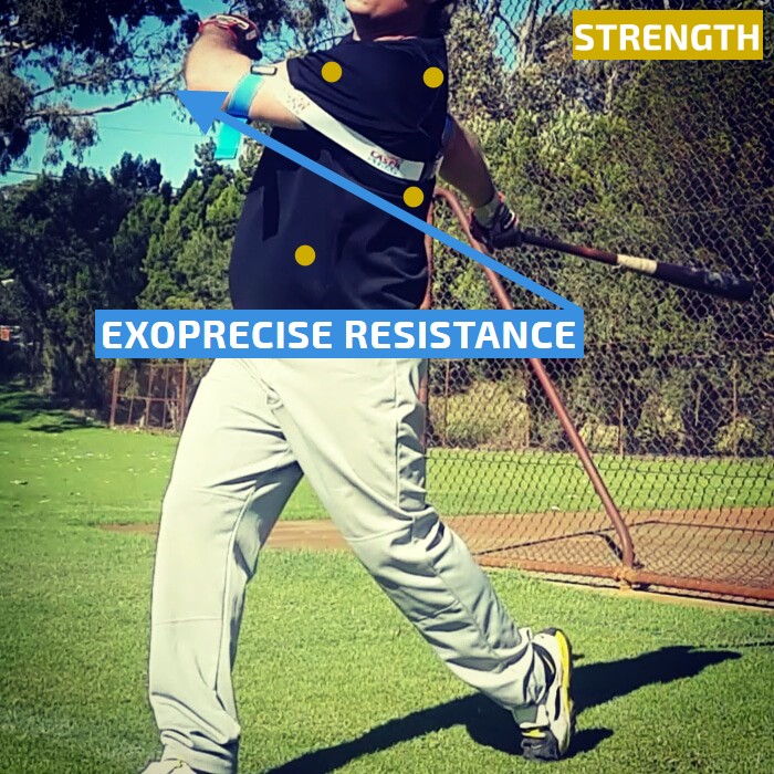 Power Hitting Aids Baseball And Softball Laser Power Swing Trainer