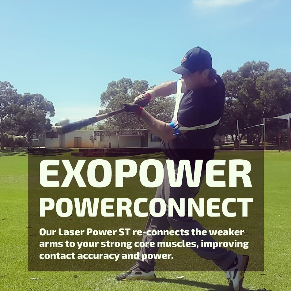 staying connected power hitting trainer