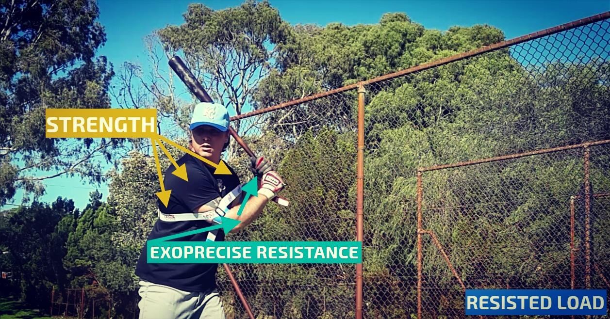 Baseball Swing Resistance Trainer
