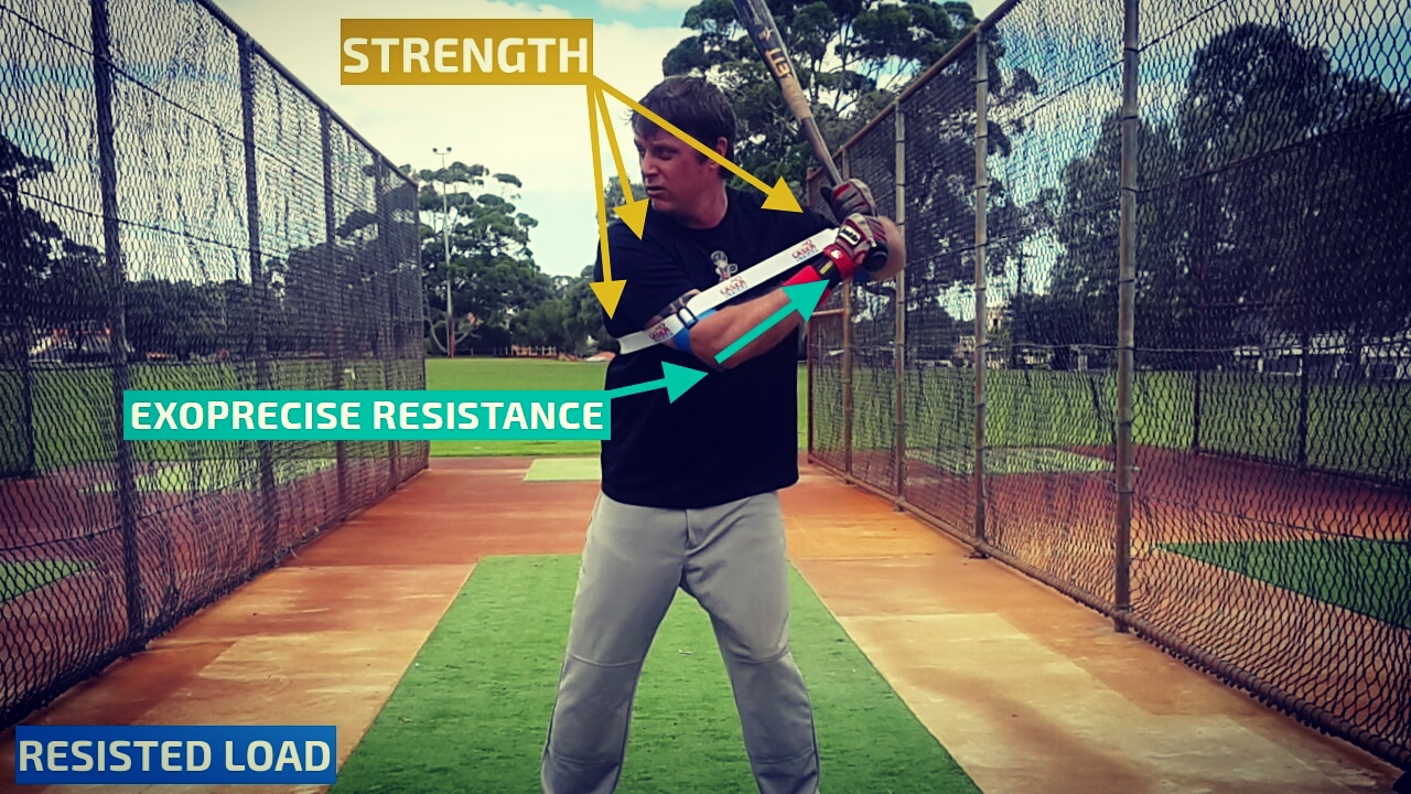 Baseball Swing Resistance Trainer