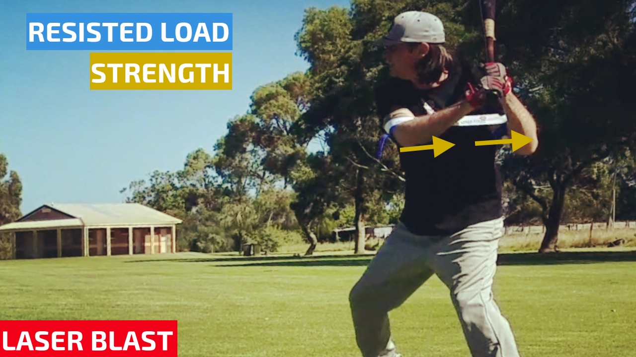 Hit Lasers Laser Power Swing Trainer Laser Blast Side Toss