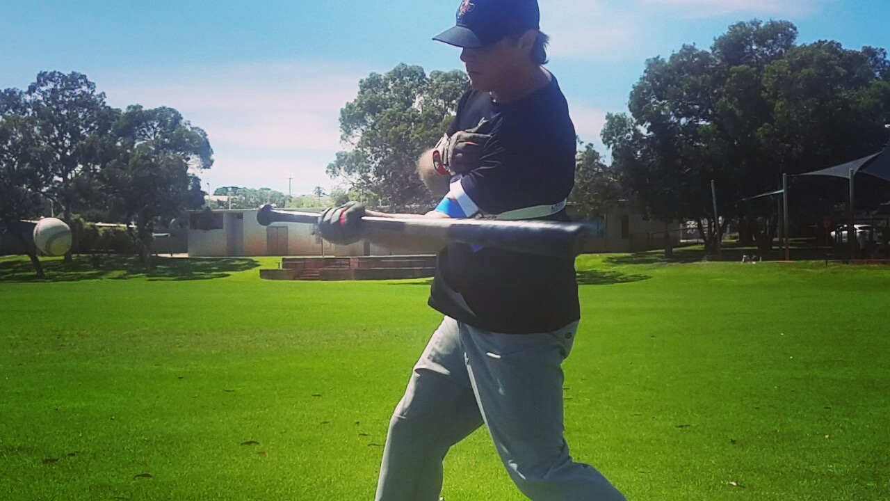 Power Swing Hitting Aid