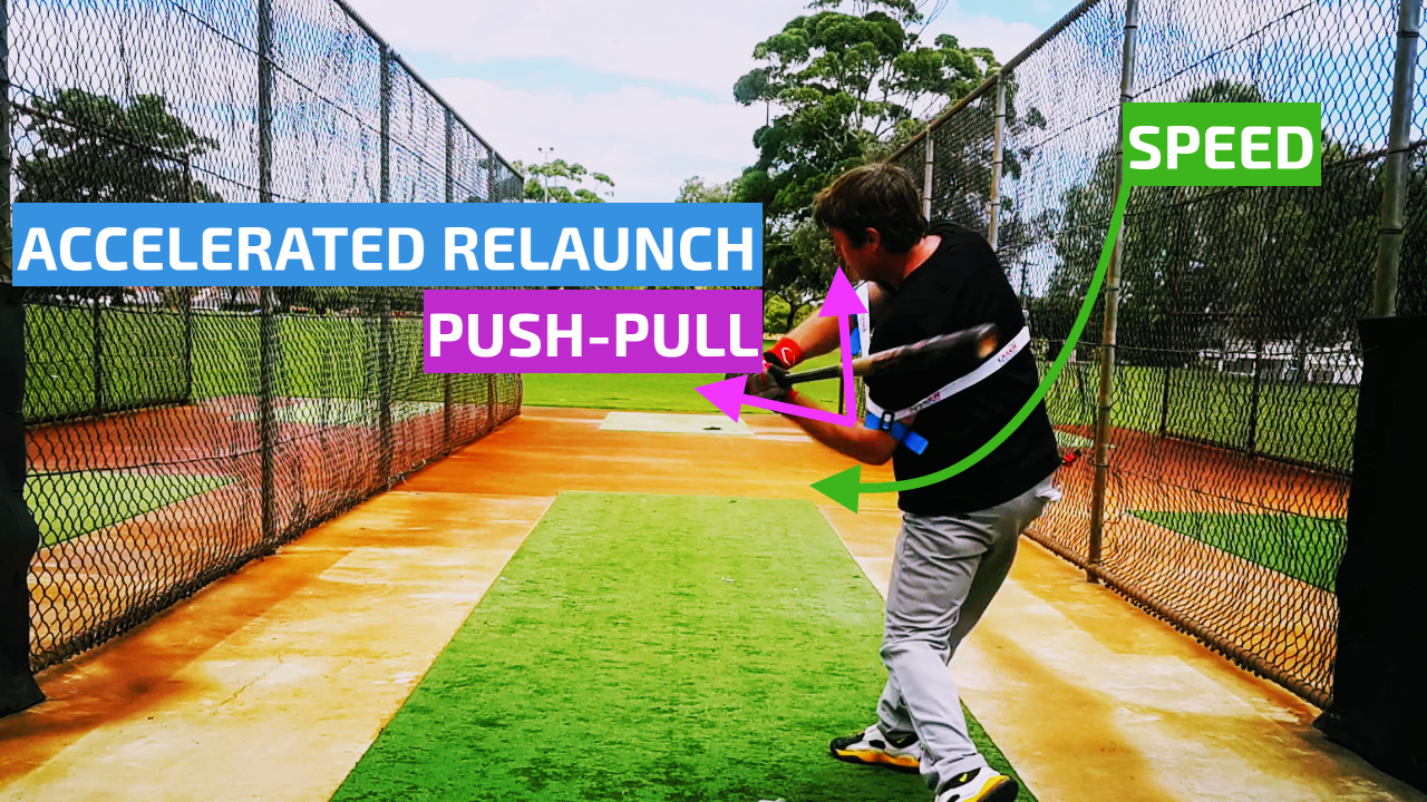 Hit Lasers Laser Power Swing Trainer Power Hitting Drill
