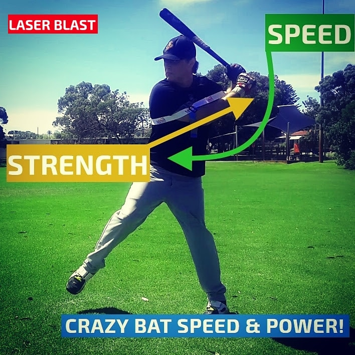Laser Strap Power Hitting Aid