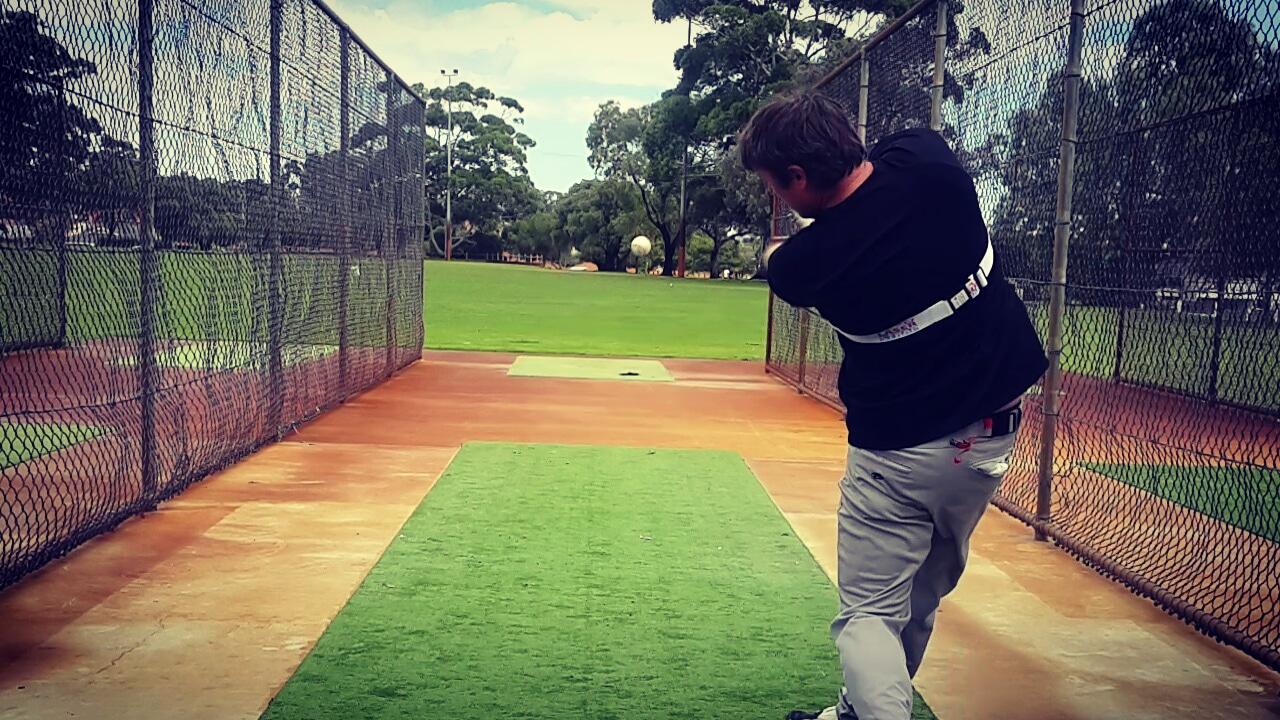 Baseball Swing Trainer Power Hitting Laser Power Swing Trainer