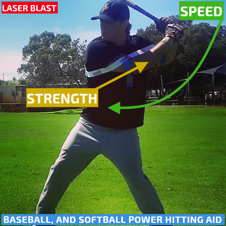 Laser Power Swing Trainer: Power Hitting Aid