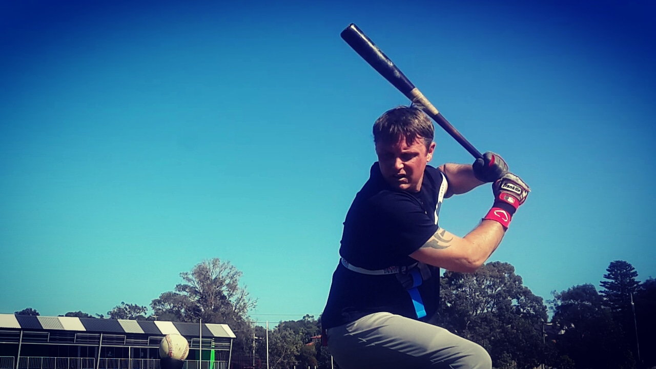 During your swing load, and seperation your back elbow moves away from your body; pushing against the Laser Strap. Patented Exoprecise resistance, strengthens your power hitting muscles, improves mechanics; releasing triggers a boost in bat speed to start your swing.