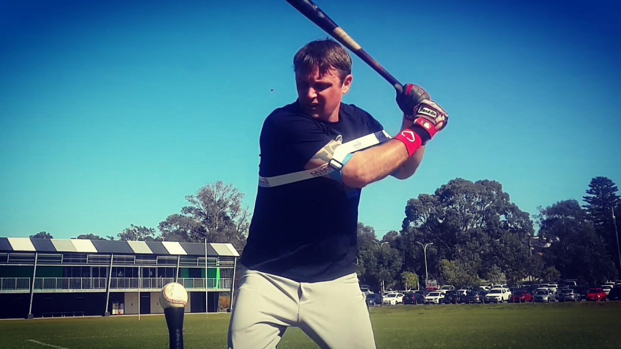 Starting your swing path to the ball, our power batting aid uses energy from Exoprecise resistance, to trigger acceleration; improving bat speed, contact accuracy, fix a casting swing, and build fast twitch muscle fibers for game day.