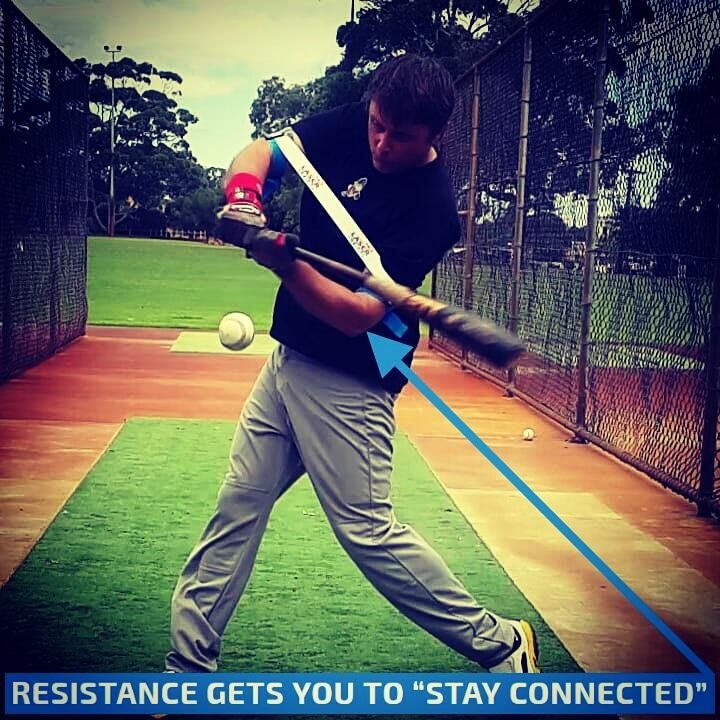 Fix A Long Swing Baseball Swing Trainer