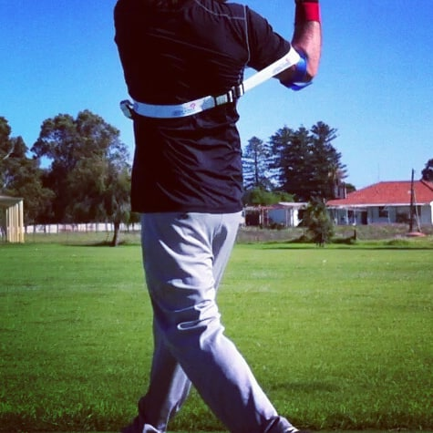 Remove your back arm, isolating frontside mechanics, strengthening muscles, improving bat speed, and swing path mechanics.