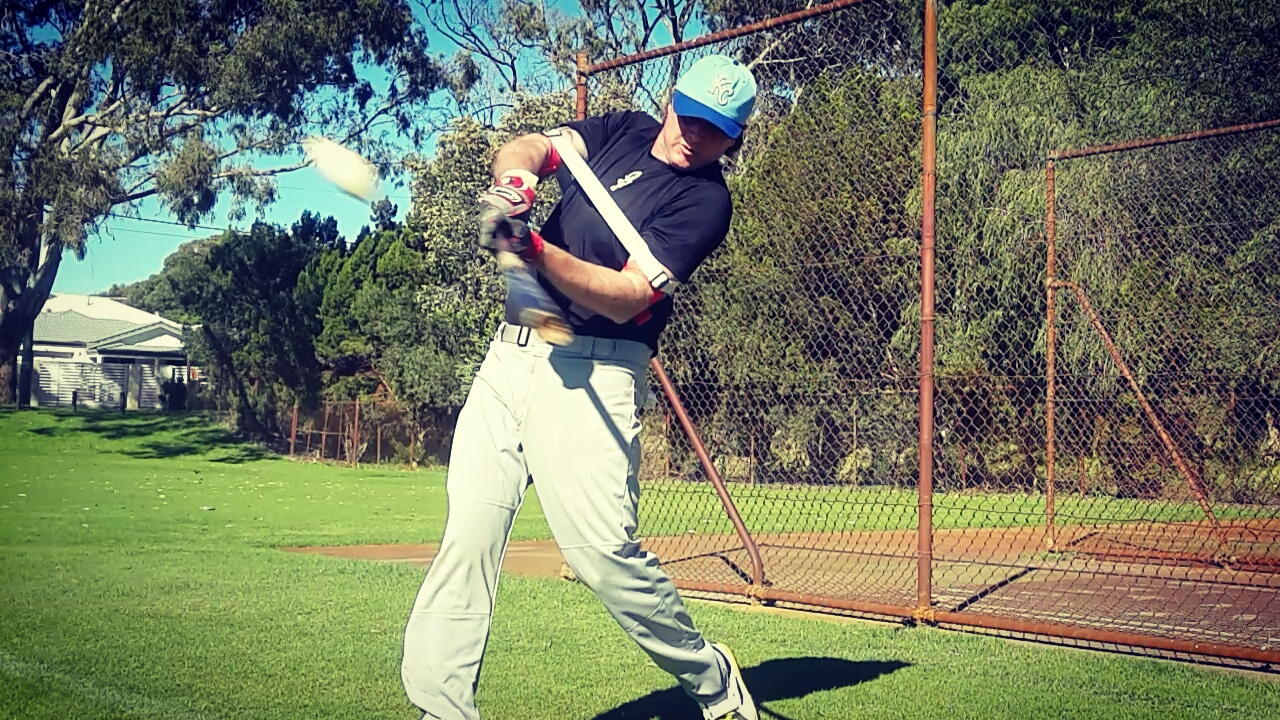 Improve your game day approach during batting practice, by staying up the middle, and opposite side of the field.