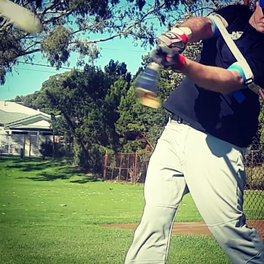 """Practicing a compact, """"hands-inside-the-ball"""" swing, improves game day batting power, and accuracy."""