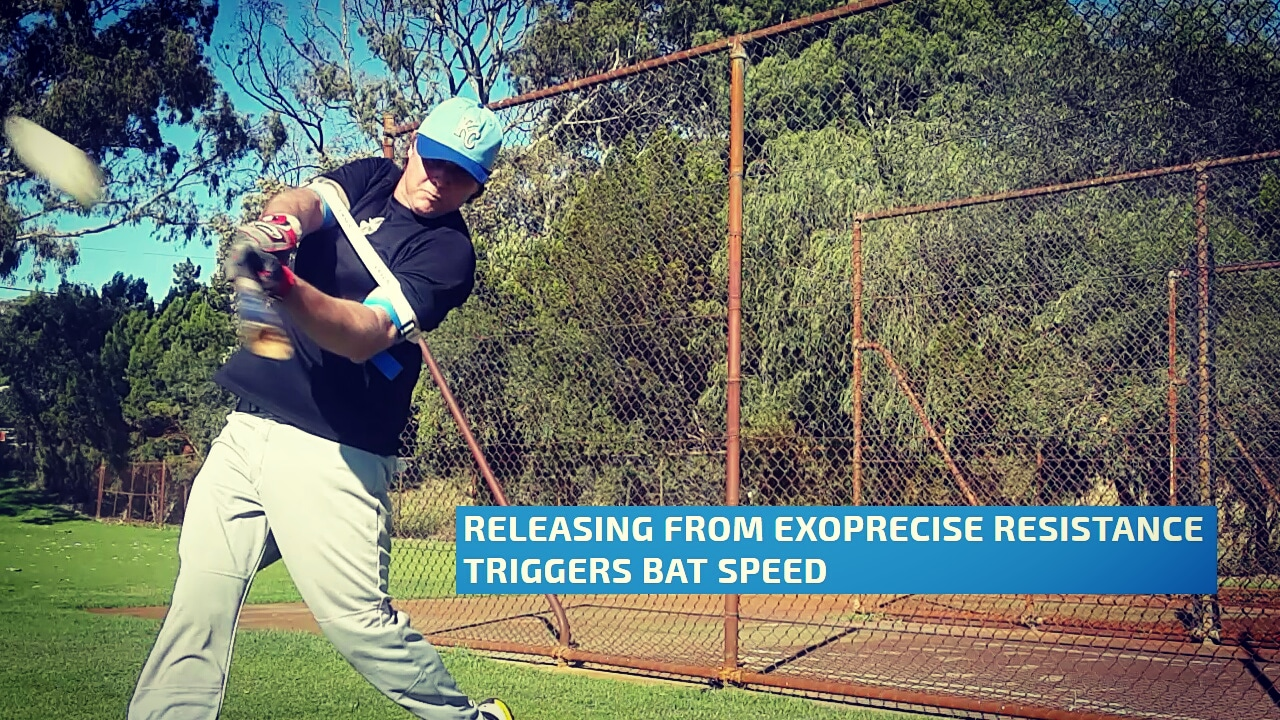 Bat speed drills super-boosting bat speed; and powerful extension