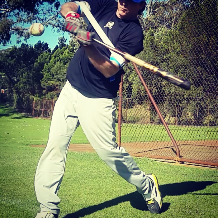 Reduce your ground balls by swinging at a pitch higher in the zone, especially early in the batting count.