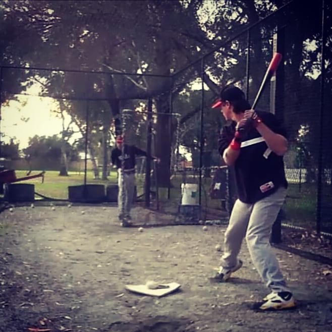 Power Hitting Aids Baseball Laser Power Swing Trainer Swing Trainer