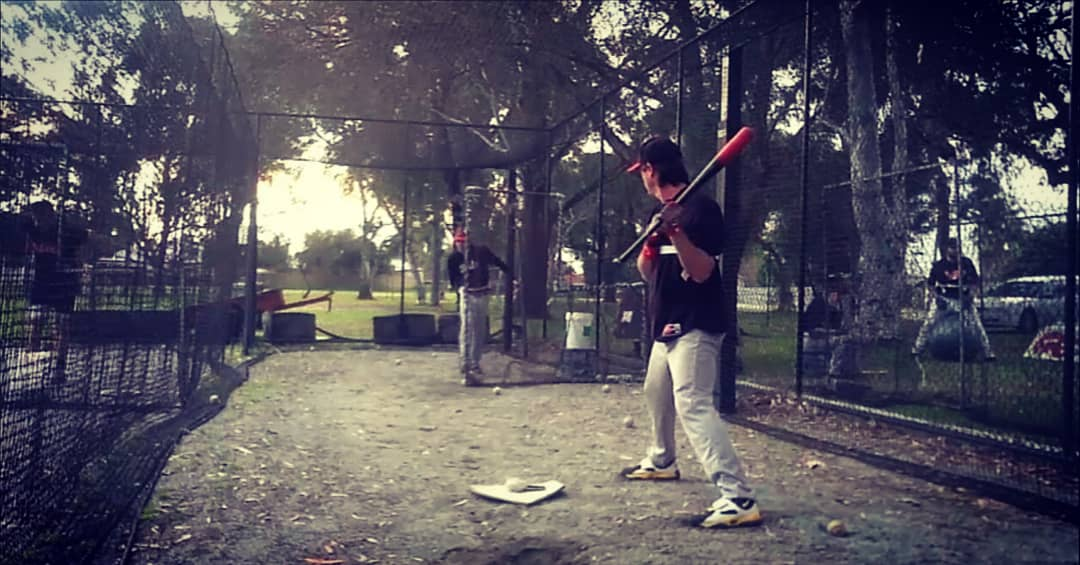 Setting up in your batting stance, Exoprecise resistance keeps your arms at the optimal distance from your body; improving bat speed, mechanics, and strengthening your power batting muscles.