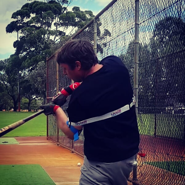 Baseball Hitting Trainer Laser Strap
