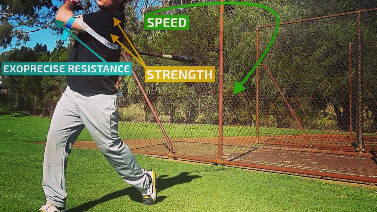 Baseball Swing Follow Through