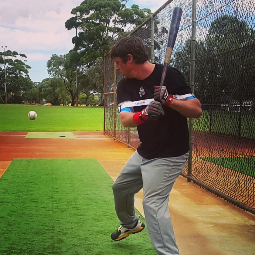 Laser Blast hitting drills fix common hitting mistakes, for example, pulling off the baseball.