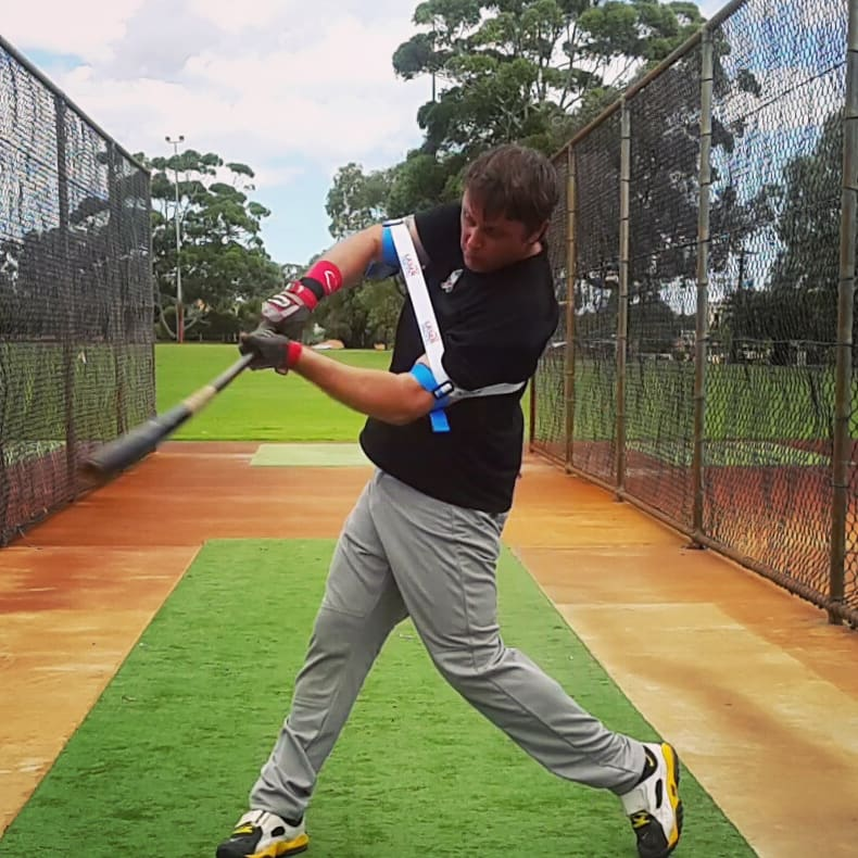 "The time your front shoulder opens during a swing, varies with pitch location, and contact depth. For example, your front shoulder mechanics for hitting a ""hanging slider,"" is different to swinging at an ""up and inside fastball."""