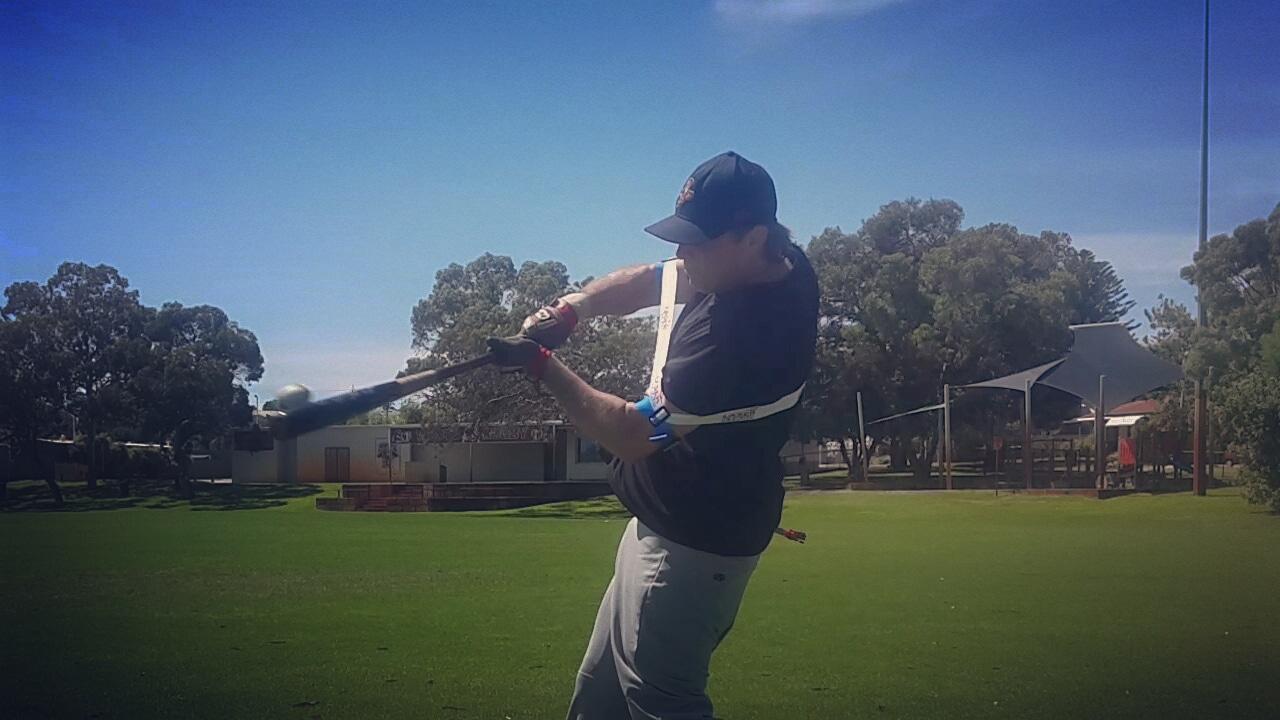 Hands Inside Ball Swing Trainer Baseball Softball Power Hitting