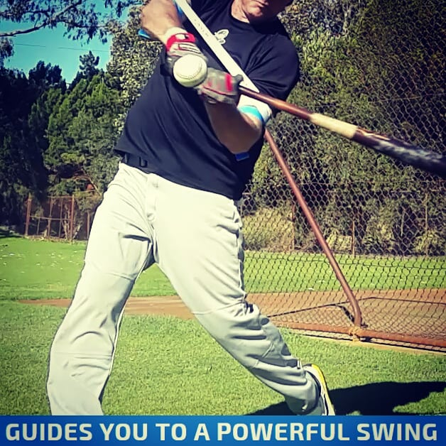 Our baseball batting aid uses globally patented Exoprecise technology, expanding and contracting with your swing; improving bat speed, mechanics, and strengthening power batting muscles. All you have to do, is wear it; and hit!