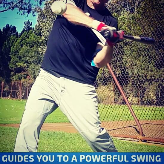 Hands Inside The Ball Baseball Swing Trainer