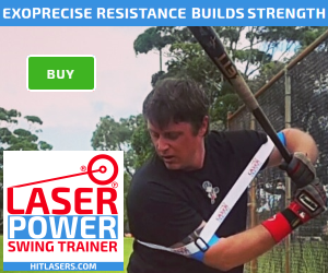 Our baseball swing trainer improves bat speed, strength in hitting muscles, and guides you to a pro swing. Buy now.