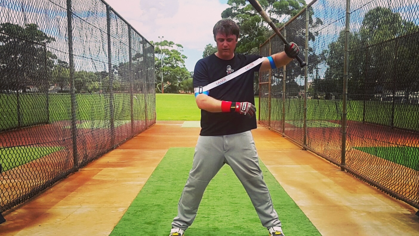 Expanding and contracting with your swing; improving bat speed, mechanics, and strengthening power batting muscles. All you have to do is wear it, and hit!