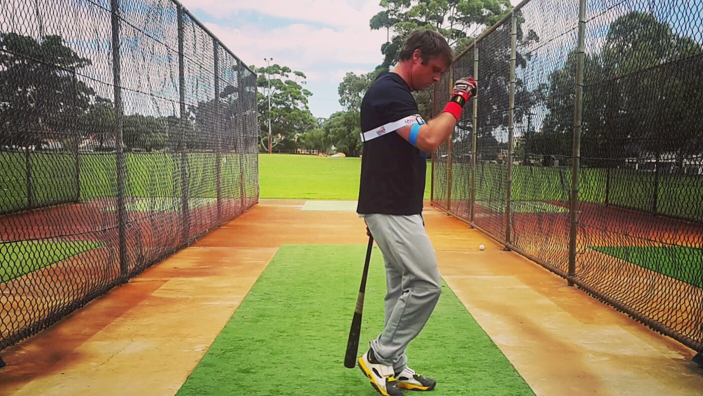 Baseball Laser Power Swing Trainer