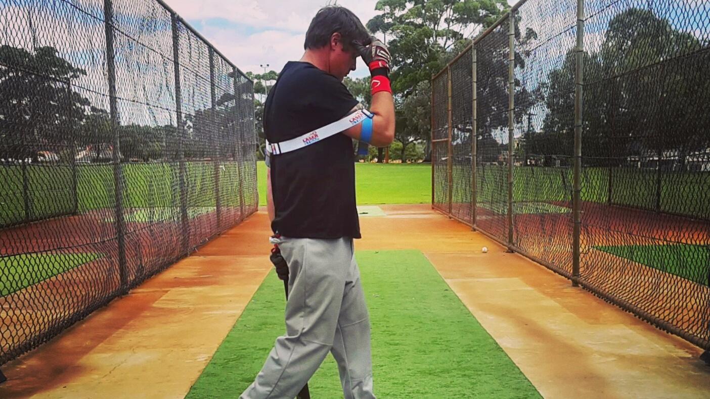 Baseball Laser Power Swing Trainer