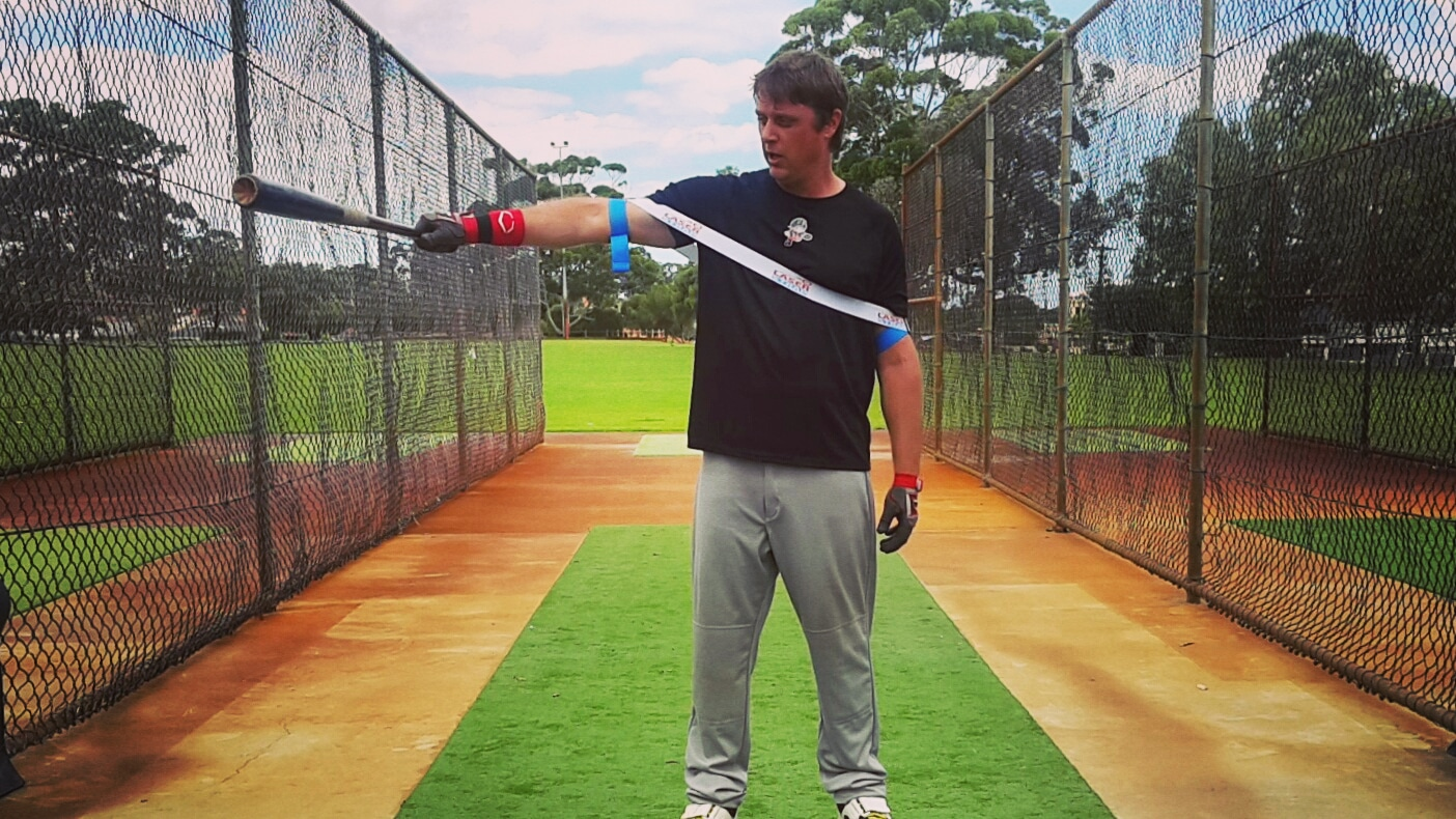 Our baseball swing trainer expands, and contracts, morphing to your baseball, and softball swing; giving Exoprecise resistance to improve strength, bat speed, and mechanics, hitting as usual.