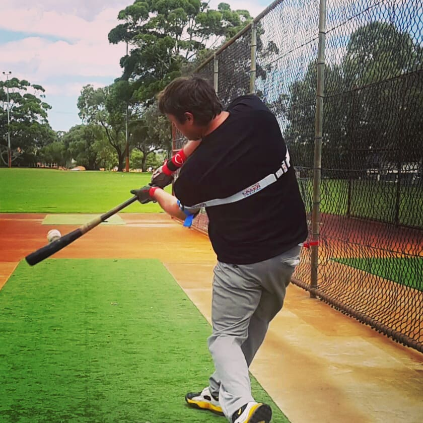 Making contact closer to your body; preparing you for success against the flame throwing pitchers in your league.