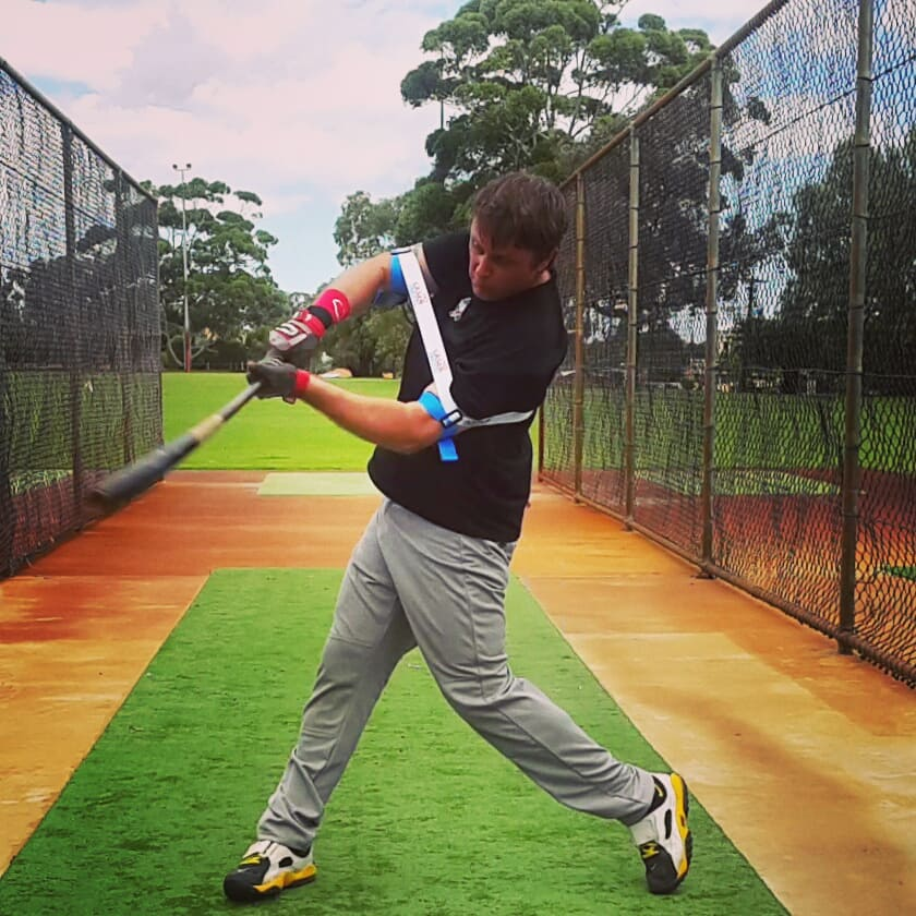Staying connected improves bat speed, contact accuracy, and reduces strikeouts when facing a dominant fastball pitcher.