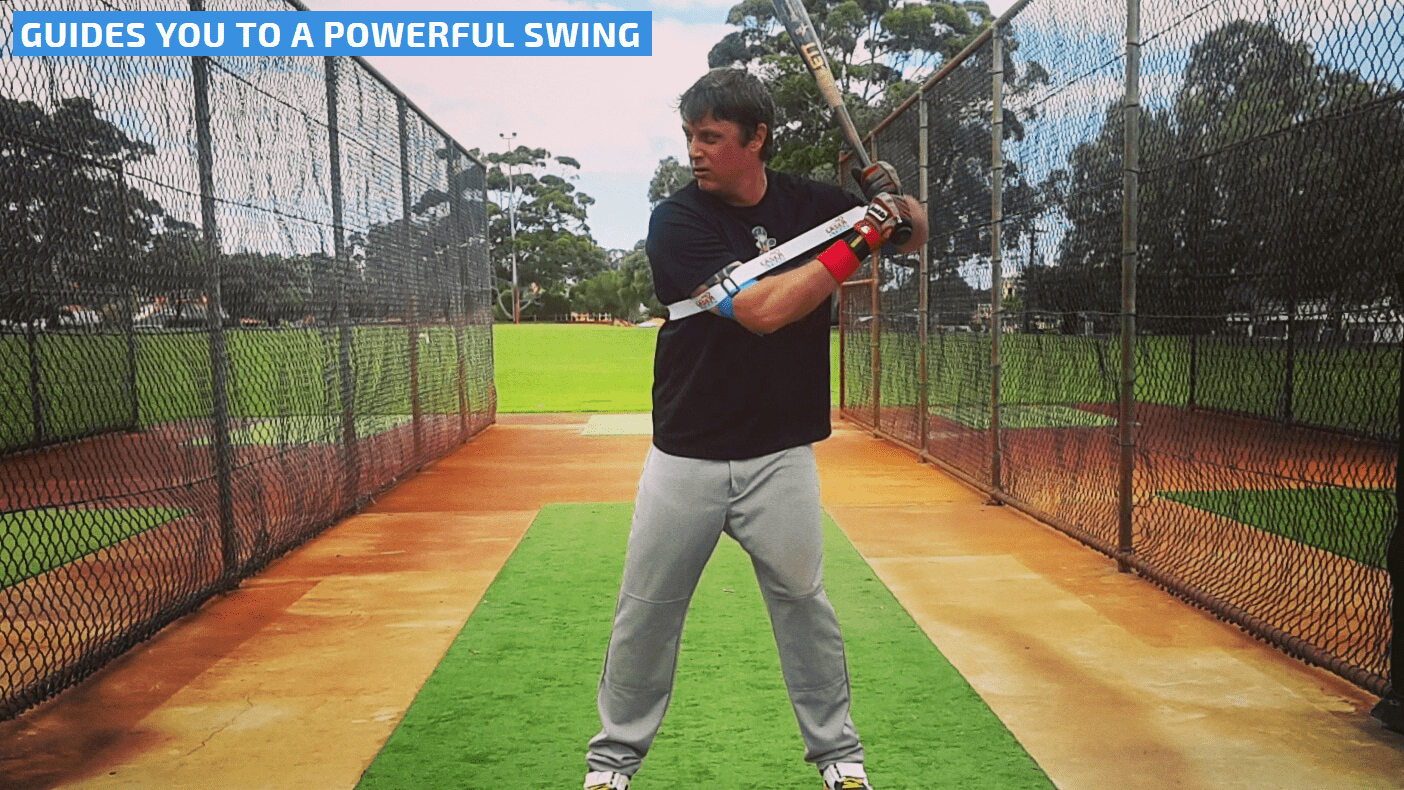 READY FOR POWER BATTING LAUNCH PAD. Setting up in your batting stance, Exoprecise resistance keeps your arms at the optimal distance from your body; improving bat speed, mechanics, and strength in power batting muscles.