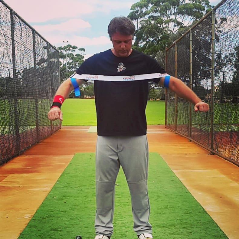 Laser Power Swing Trainer Clint Balgera