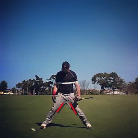 Baseball Hitting Stance Power Drill