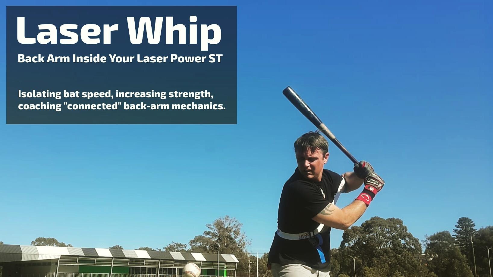 baseball power hitting trainer laser power st