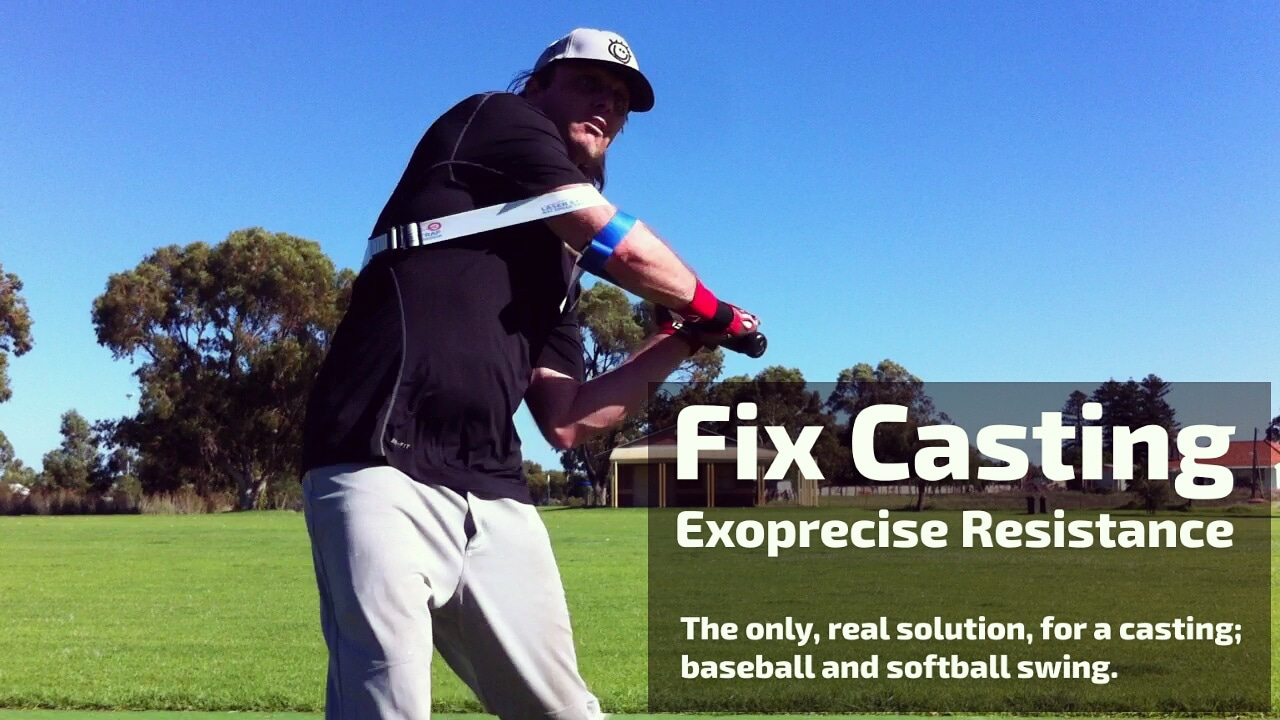 fix casting baseball softball swing