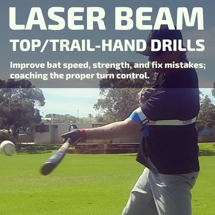 laser beam top hand hitting