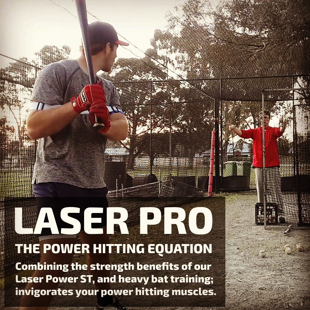 laser pro heavy bat training drills