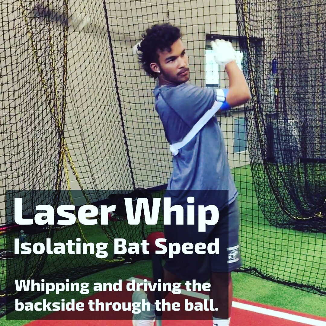 laser whip hitting drill
