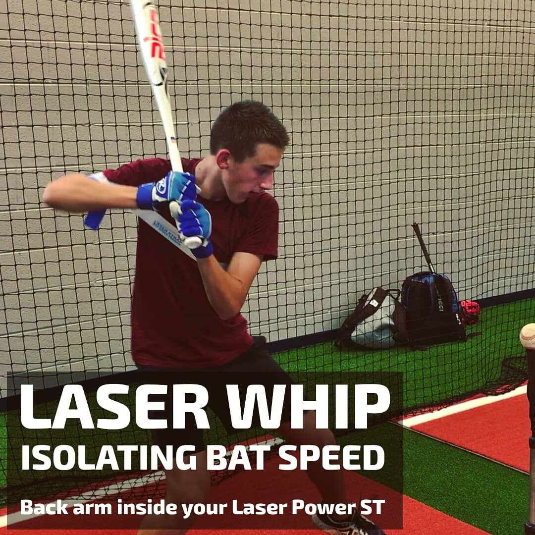 laser whip hitting drills