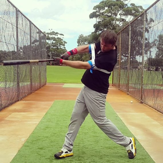 strengthens muscles to stay through the ball
